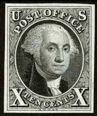1847 Washington 10c
