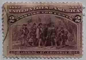 1893 Columbian Exposition 2c