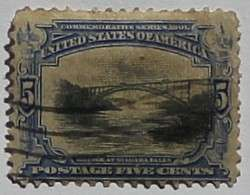 1901 Pan-American Exposition 5c