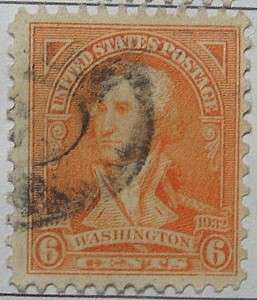 1932 Washington Bicentennial 6c