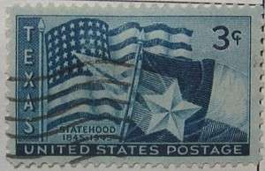 1945 Texas Statehood 3c