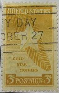 1948 Gold Star Mothers 3c
