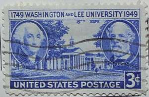 1949 Washington and Lee 3c
