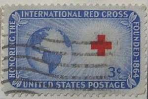 1952 Red Cross 3c