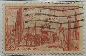 1953 Gadsden Purchase Centenary 3c