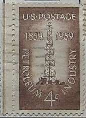 1959 Petroleum Industry Centenary 4c