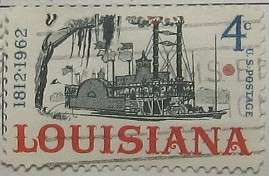 1962 Louisiana Statehood 4c
