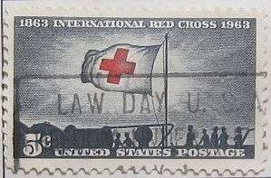 1963 Red Cross Centenary 5c