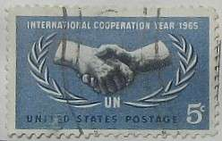 1965 International Cooperation Year 5c