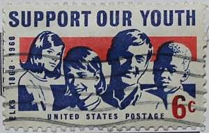 1968 Support Our Youth 6c