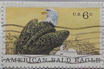 1970 Natural History Museum Centenary - Eagle 6c