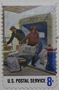 1973 Postal Workers - Loading 8c