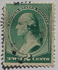 1887 Washington 2c