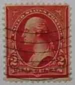 1899 Washington 2c red