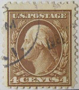 1917 Washington 4c