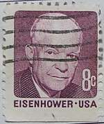 1971 Eisenhower 8c Booklet