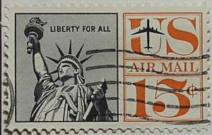 1961 Statue of Liberty 15c