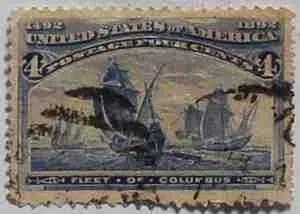 1893 Columbian Exposition 4c