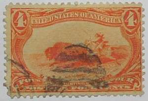 1898 Indian Hunting Buffalo 4c