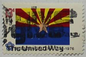 1976 Arizona Flag 13c