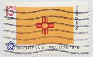 1976 New Mexico Flag 13c