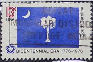 1976 South Carolina Flag 13c