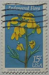 1979 Wallflower 15c