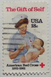 1981 Red Cross 18c