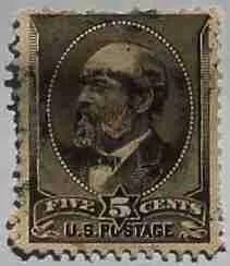 1882 Garfield 5c