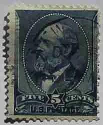 1888 Garfield 5c