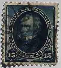1890 Clay 15c