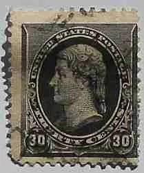 1890 Jefferson 30c