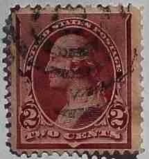 1890 Washington 2c