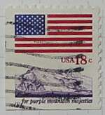 1981 Flag and Mountain 18c