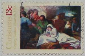 1976 Christmas Nativity 13c