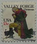 1977 Christmas Valley Forge 13c