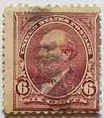 1895 Garfield 6c