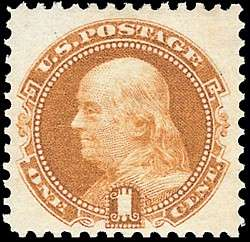1869 Franklin 1c
