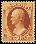 1888 Hamilton 30c