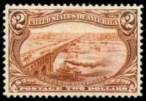 1898 Mississippi River Bridge $2