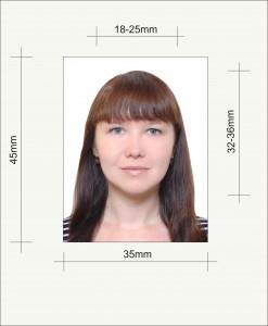 Какой Размер На Фото На Паспорт