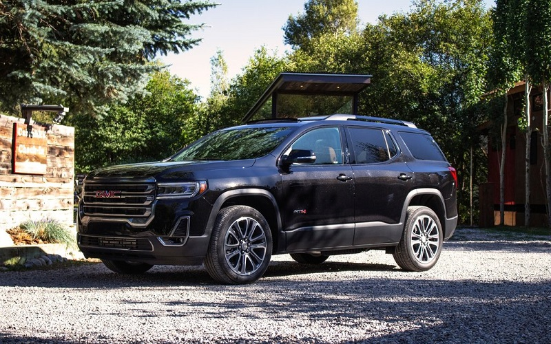 2021 GMC Acadia Changes – AT4 and Denali Models
