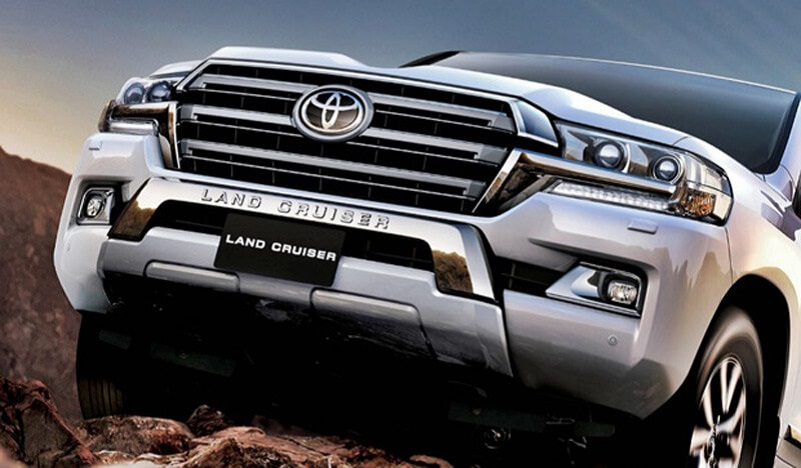 New Generation of 2021 Toyota Land Cruiser for 60th Anniversary