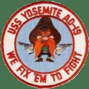 Uss yosemit badge