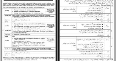 NBAF State bank of Pakistan Jobs 220