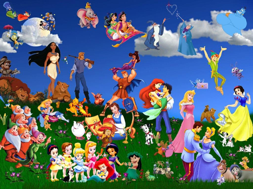 Тест: Угадай старый мультфильм Disney по смешным персонажам
