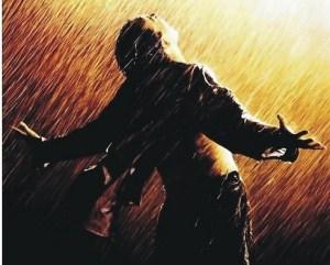shawshank redemption rain.blogpost