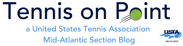 MAS Tennis on Point Logo