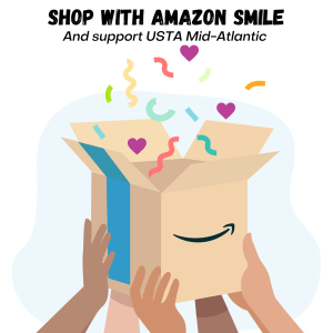 Shop Amazon smile with USTA Mid-Atlantic