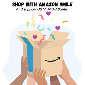 Shop Amazon smile with USTA Mid-Atlantic